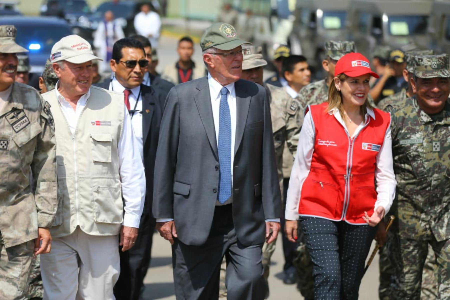 Presidente Kuczynski participa en la presentación de la 1.ª Brigada Multipropósito Mariscal del Perú Eloy Gaspar Ureta Montehermoso del Ejército del Perú. Foto: ANDINA/Prensa Presidencia.