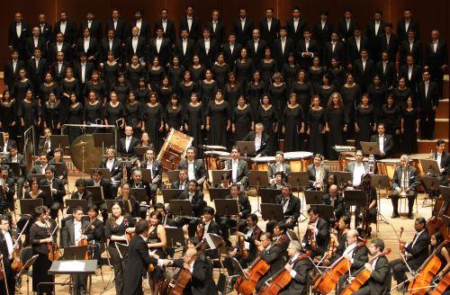 Orquesta Sinfónica Nacional y Coro Nacional. Foto: ANDINA/Difusión