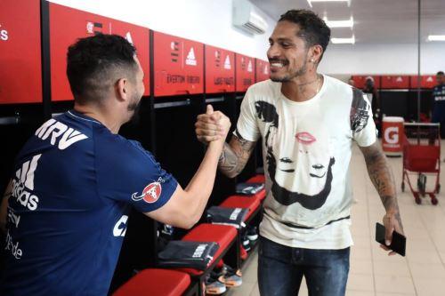 Paolo Guerrero se reintegró a los entrenamientos del Flamengo