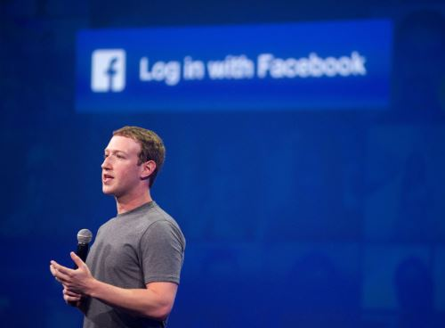 Mark Zuckerberg Foto: AFP