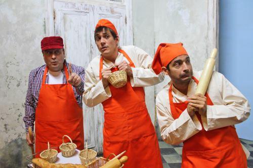 Escena de Pedro y los panecillos mágicos