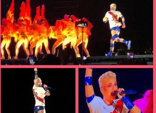 Katy Perry se mostró cálida con sus seguidores en su único show en Lima.