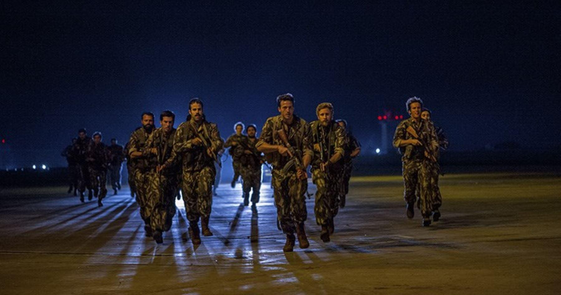 Escena de la película El rescate