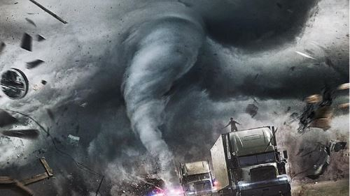 Escena de Huracán categoría 5