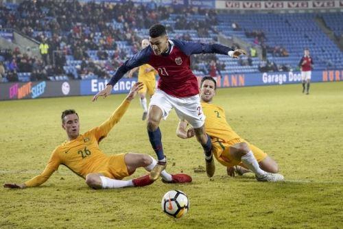 Australia no pudo con Noruega y genera dudas previo al Mundial Rusia 2018