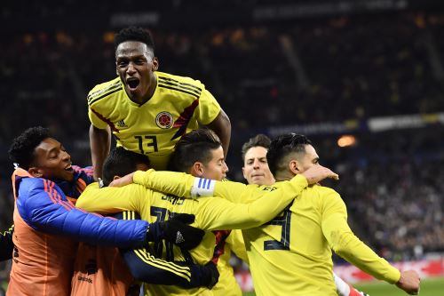 Colombia gana 3 a 2 a Francia