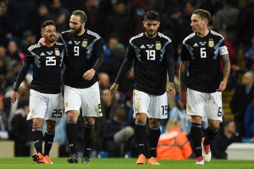 Argentna no sintió la falta de Messi y derrotó a Italia