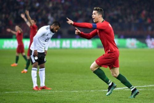Cristiano Ronaldo fue la gran figura de Portugal