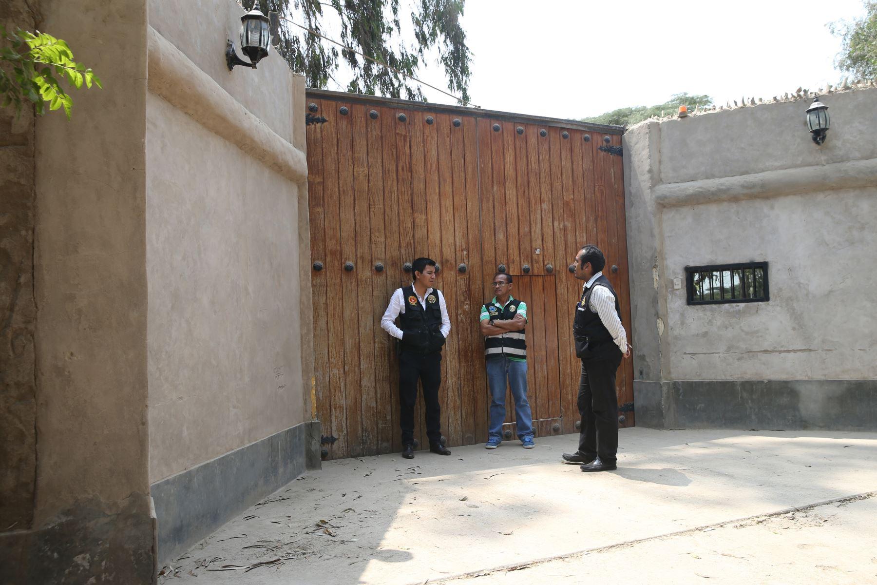 Fiscalía allana casas de Pedro Pablo Kuczynski, en Cieneguilla de ex presidente de la República. Foto: ANDINA/Norman Córdova