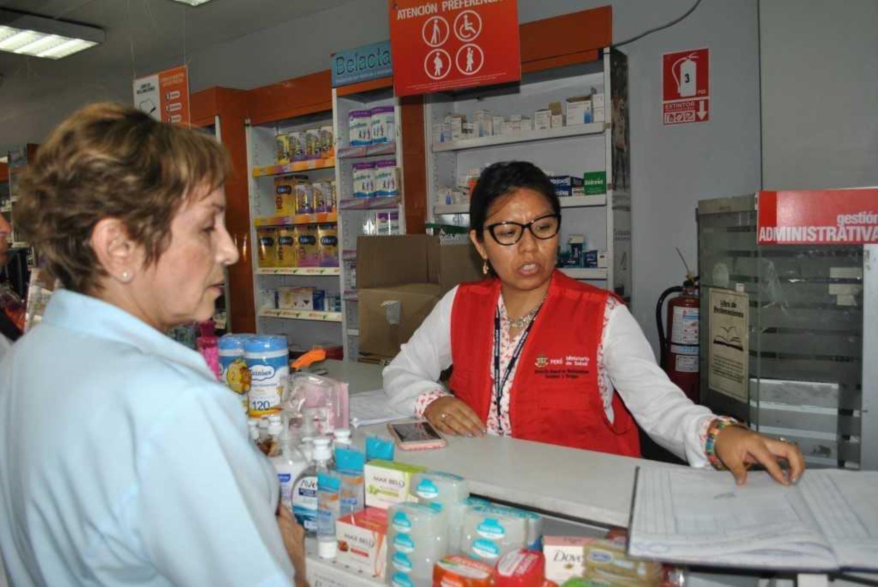 Intervienen farmacias que vendían medicamentos
