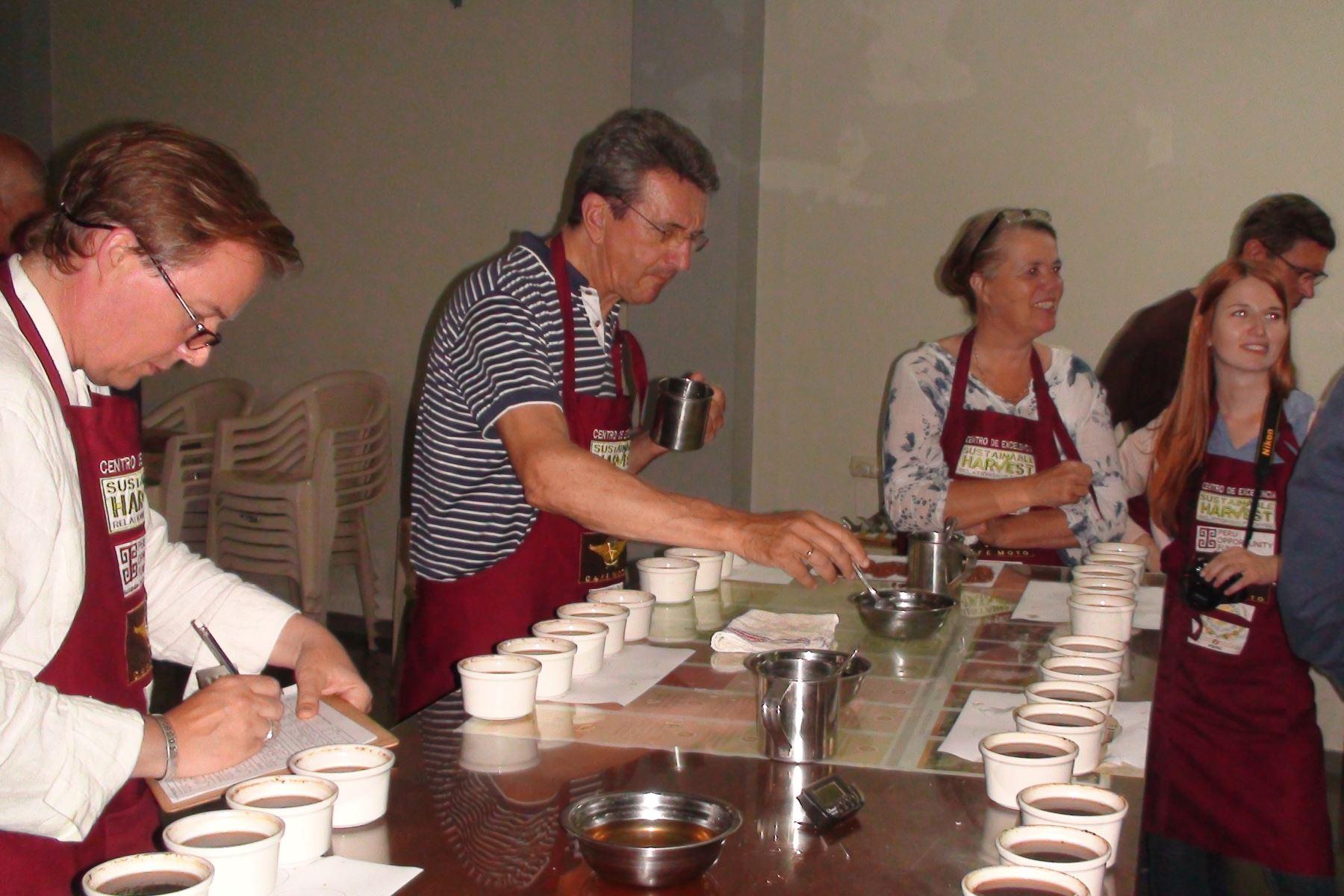 Café de Cajamarca recibe medalla de oro en Alemania. ANDINA/Difusión