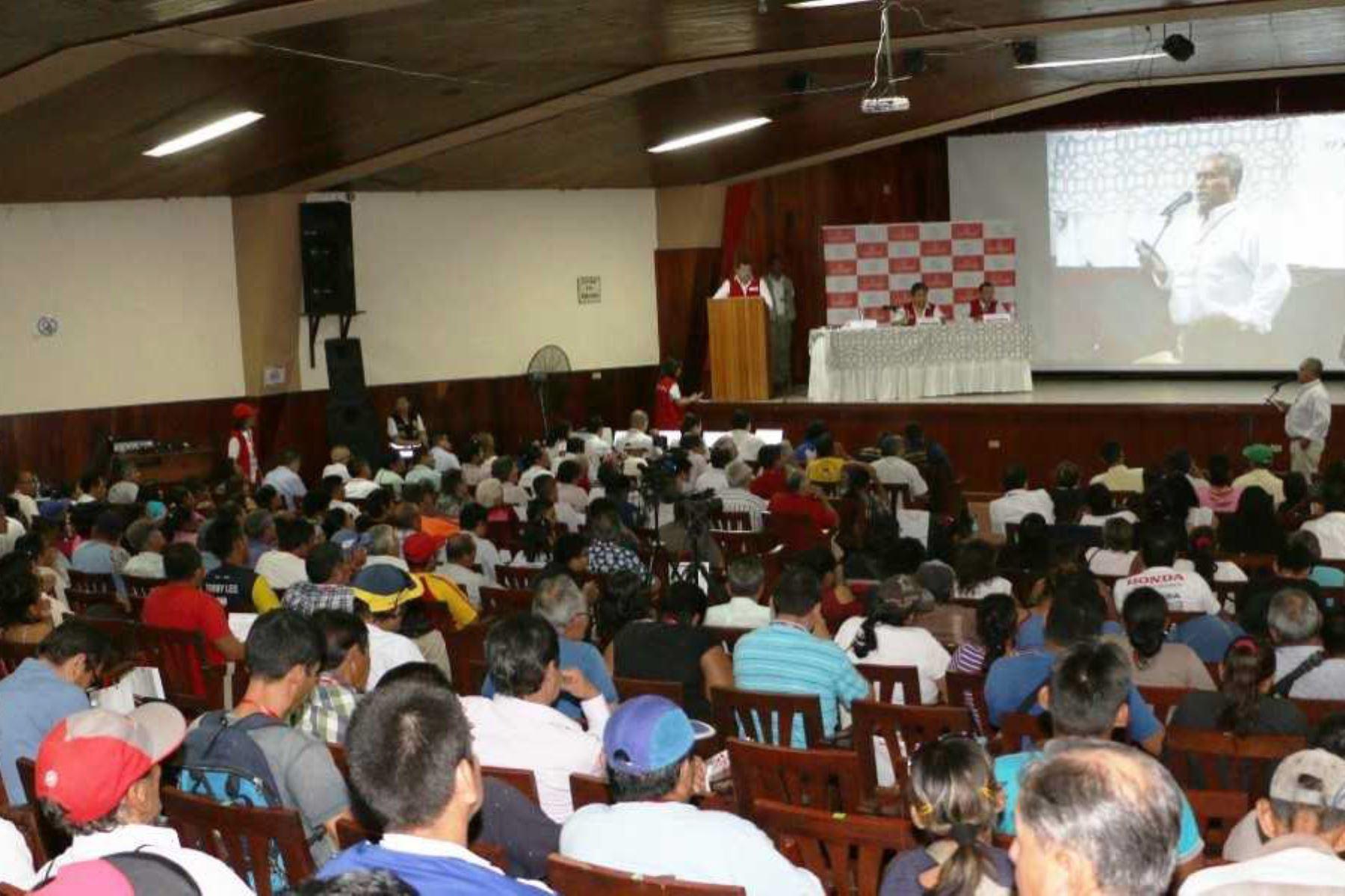 La Contraloría General de la República realizará el 18, 19 y 20 de abril audiencias públicas regionales en Piura, Lambayeque y La Libertad, respectivamente, con la finalidad de promover la participación ciudadana en el ejercicio del control gubernamental.