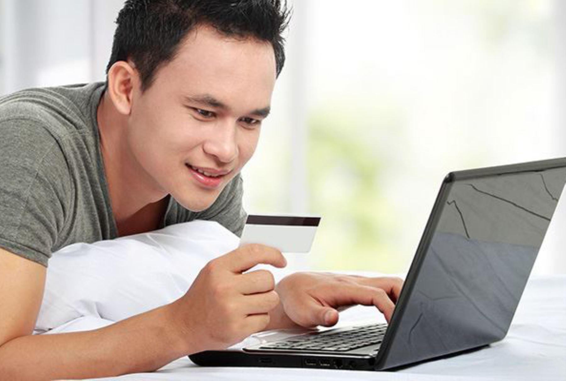 Compras por internet ANDINA/Difusión