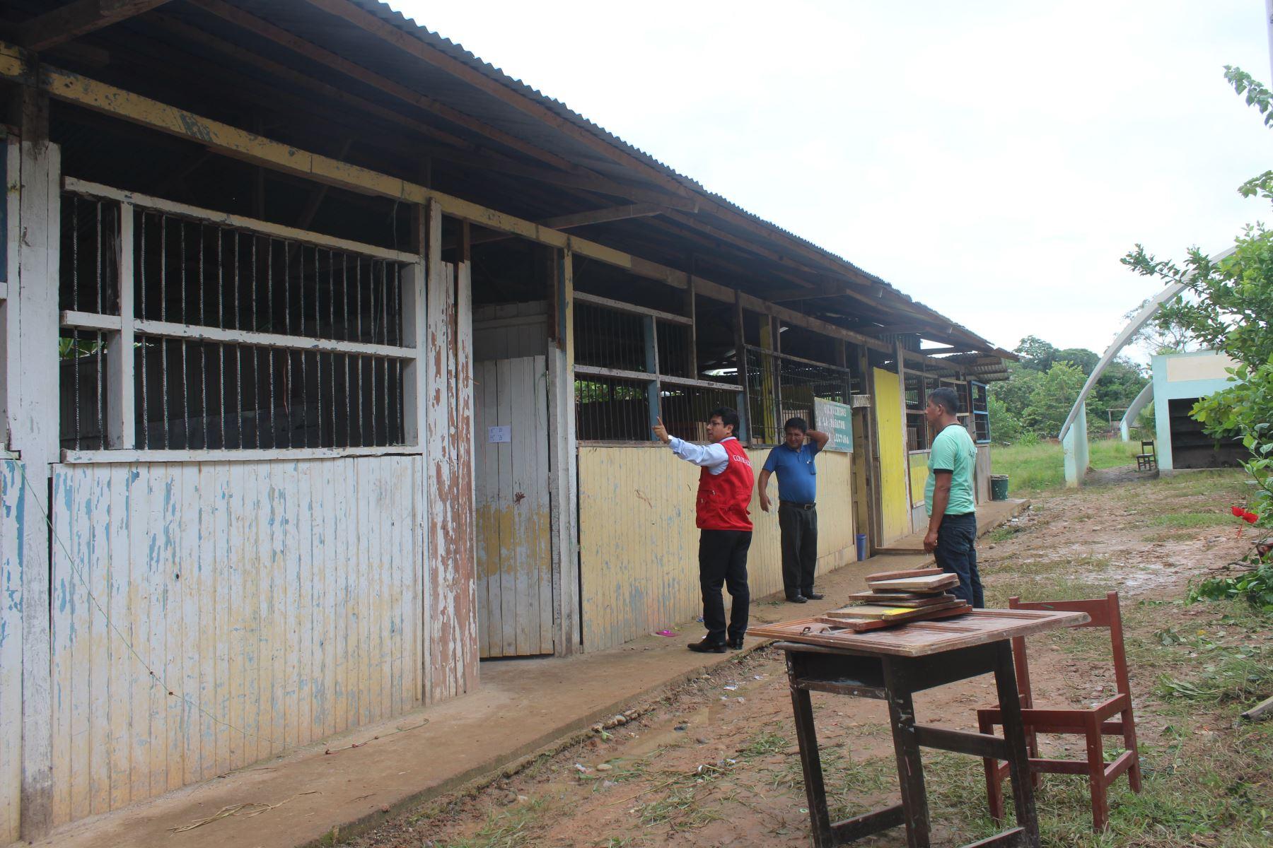 Contraloría identifica aspectos a mejorar en ocho colegios de región Ucayali. ANDINA/Difusión