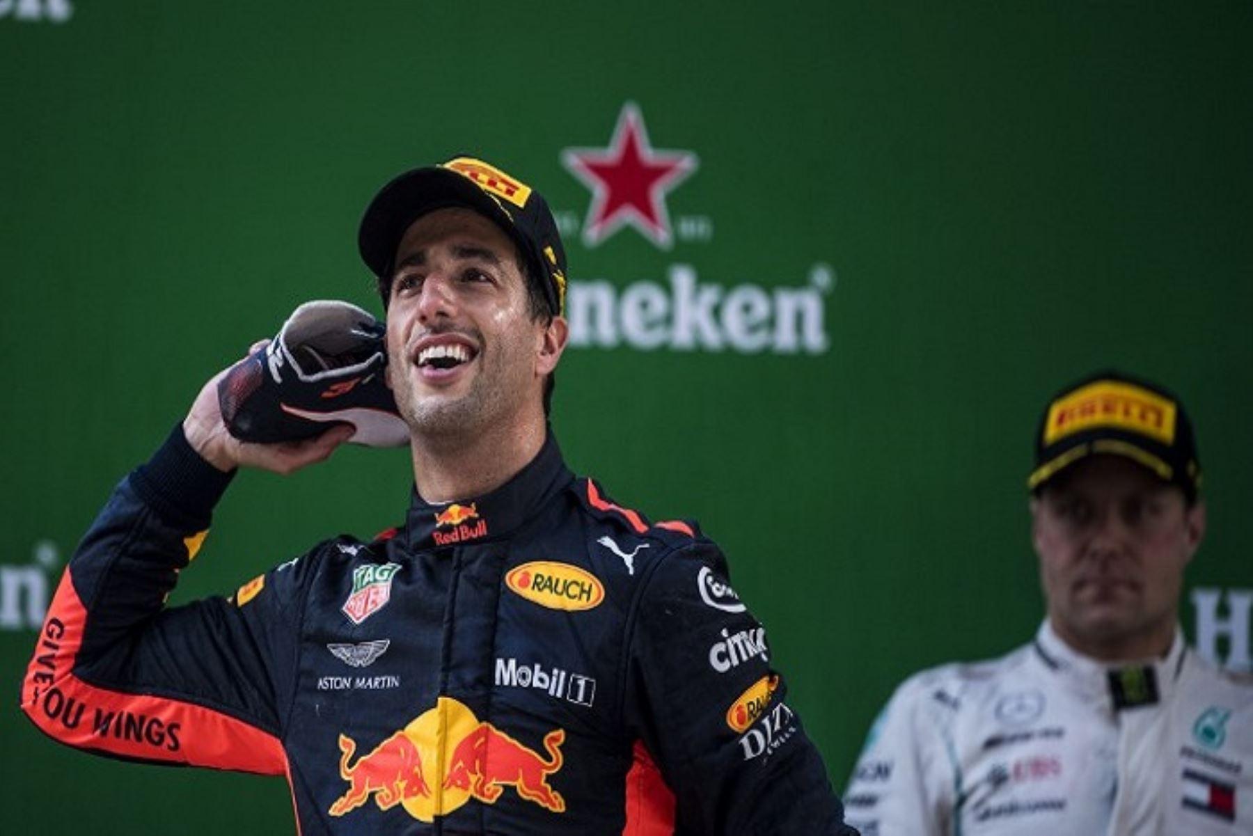 El australiano Ricciardo (Red Bull) gana el Gran Premio de China de F1