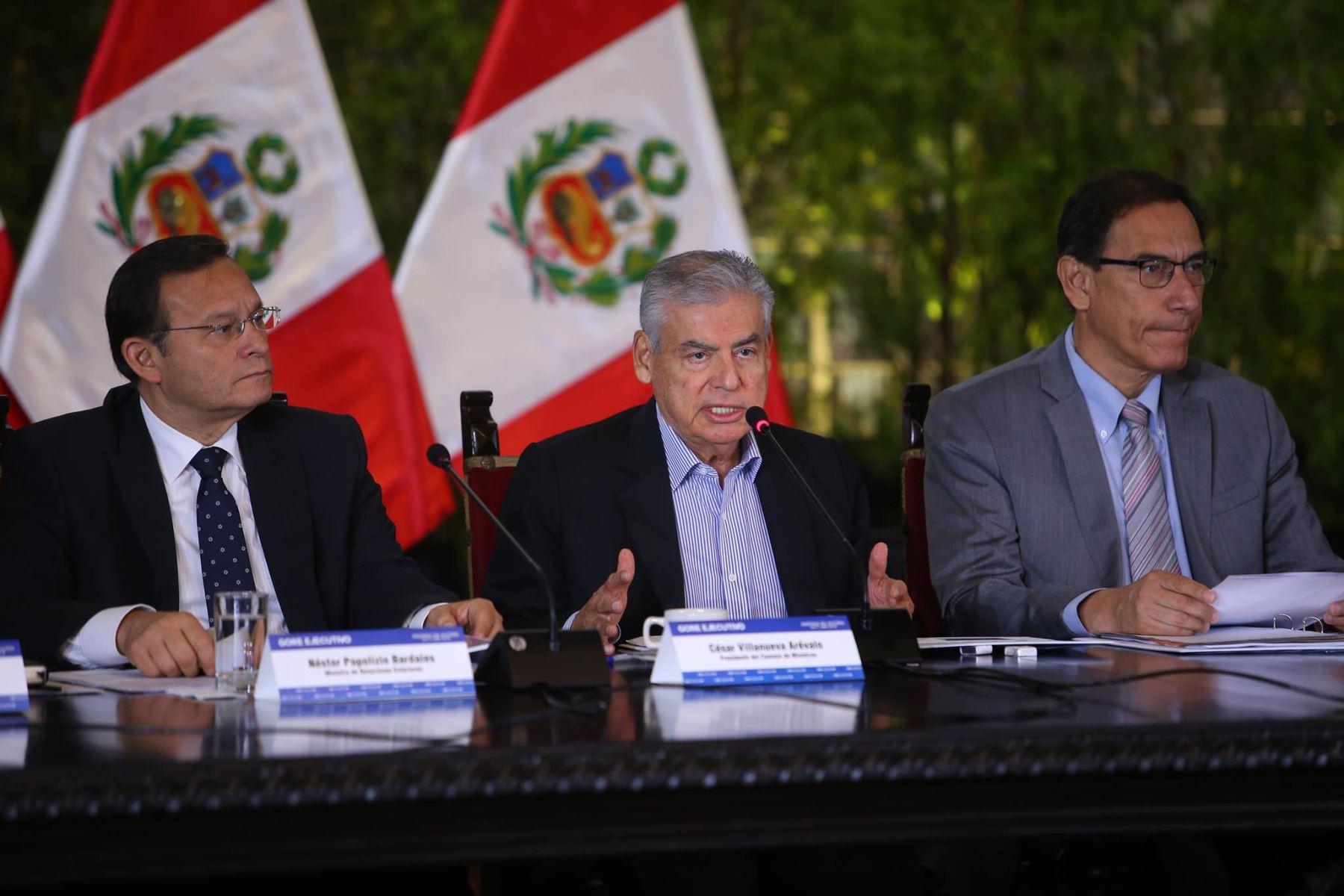 GORE Ejecutivo aprueba financiamiento para proyectos en regiones por S/1300 millones