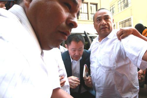 Kenji Fujimori declara ante fiscal por aportes de Odebrecht a Fuerza Popular