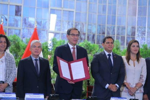 Presidente Martín Vizcarra lidera la última jornada del Gore-Ejecutivo Extraordinario