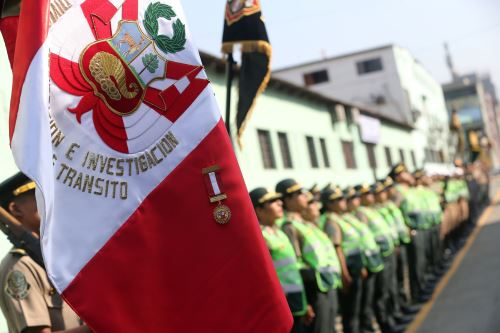 Aniversario de la División de Prevención e Investigación de Accidentes de Tránsito de la Policía Nacional
