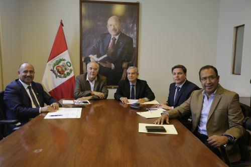 Jefe del Gabinete, César Villanueva, se reúne con el grupo parlamentario de Acción Popular