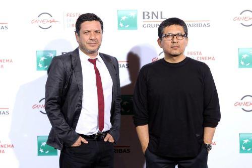 Joel Calero y Lucho Cáceres orgullosos de haber recibido reconocimiento.