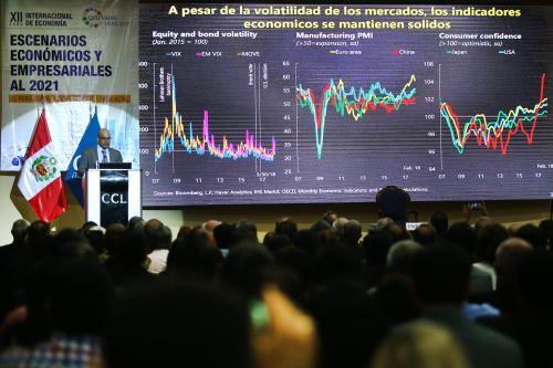 """XII Foro Internacional de Economía """"Quo Vadis Perú 2018: """"El Perú puede y debe crecer a tasa alta"""""""
