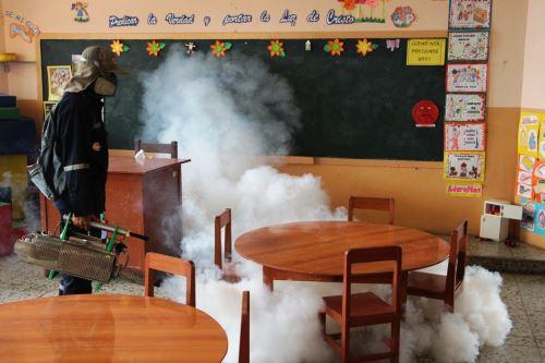 Disminuyen casos de dengue en Piura en el primer trimestre del 2018. ANDINA