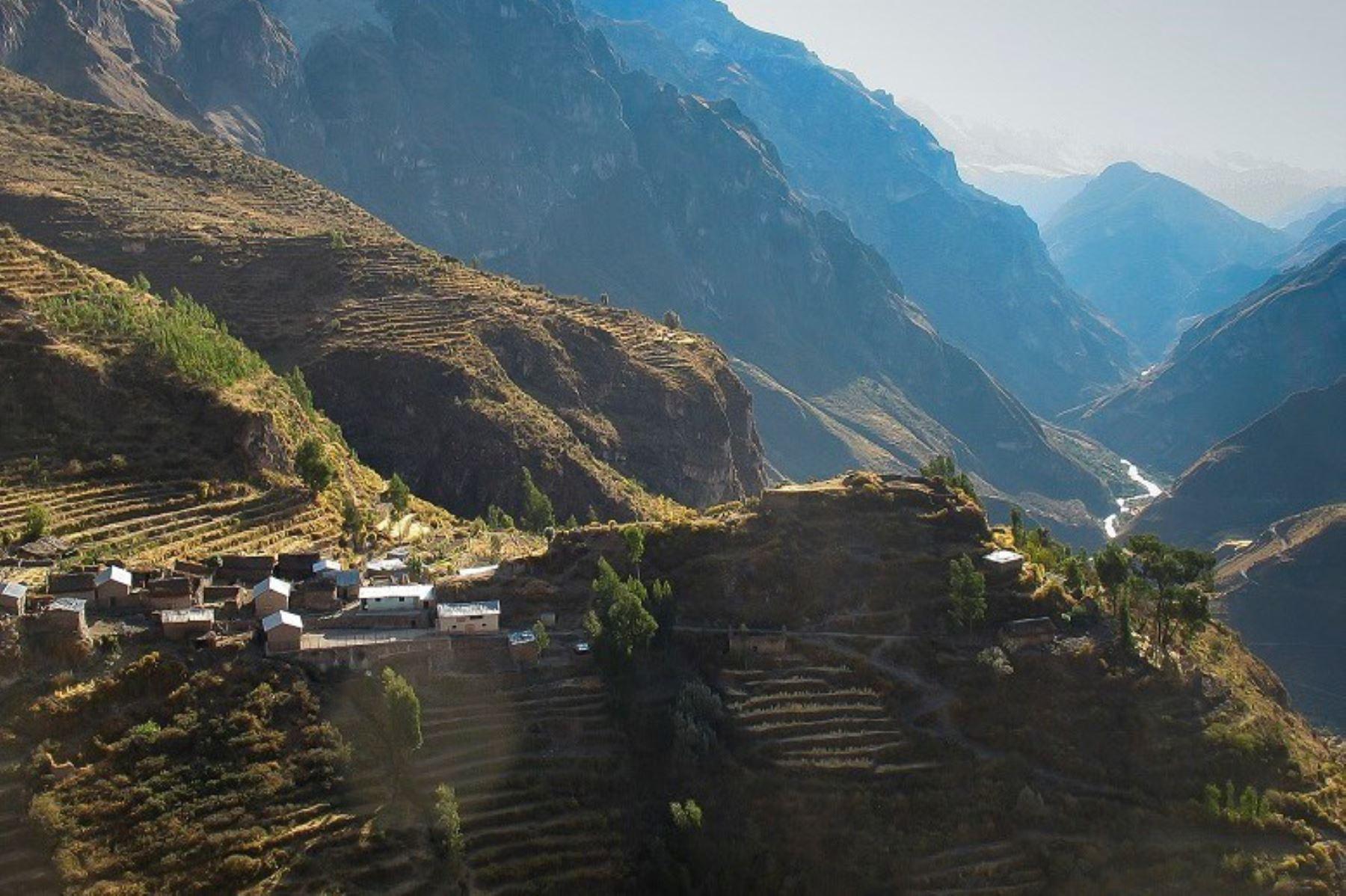 Arequipa postulará al cañón de Cotahuasi como Patrimonio Mundial Natural de la Unesco. ANDINA/archivo