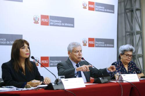 Conferencia de prensa tras reunión del Consejo de Ministros
