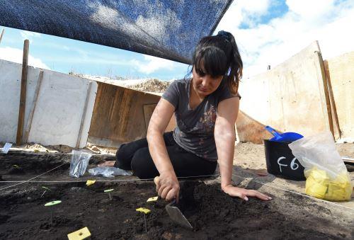 Sitio arqueológico hallado en Uruguay Foto: AFP