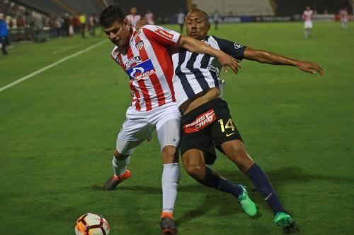 Alianza Lima pierde 2 a 0 con el Junior  de Barranquilla por la Copa Libertadores