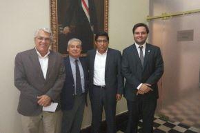 Exintegrantes de bancada PPK se reunieron con César Villanueva.