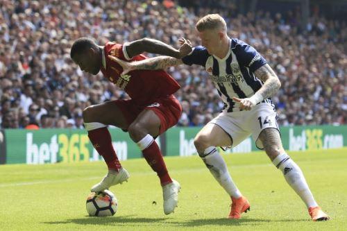 West Bromwich Albion  y Liverpool empataron 2 a 2, durante  el partido de la Premier League inglesa