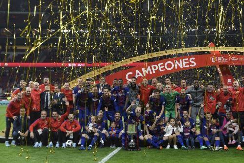 El Barcelona conquista la Copa del Rey 2018, tras ganar al Sevilla por 5-0