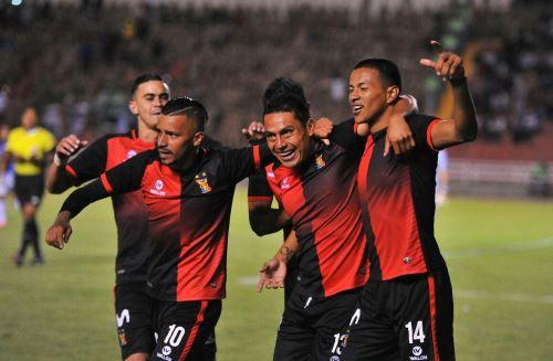 Melgar venció 2-1 a Unión Comercio. Foto: ANDINA/Difusión