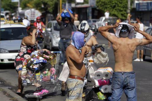 Protestas y saqueos contra las reformas del gobierno  de Nicaragua, deja al menos 20 muertos