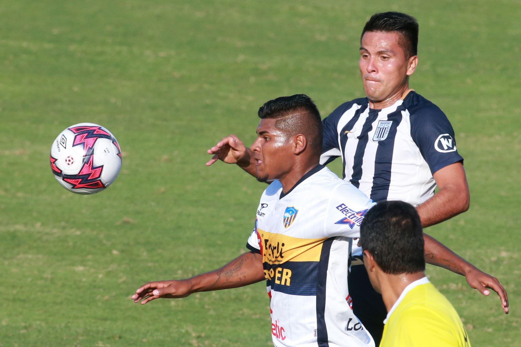 Alianza Lima vence 1 a 0 a Sport Rosario. ANDINA/Vidal Tarqui