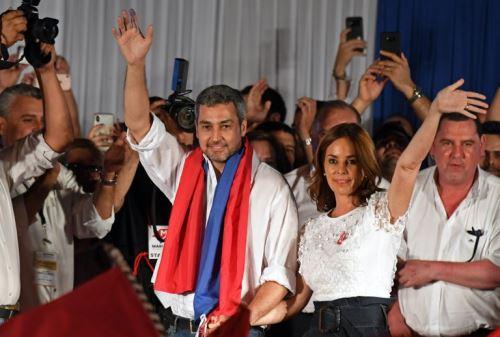 Martín Vizcarra felicita elección de Mario Abdo como presidente de Paraguay
