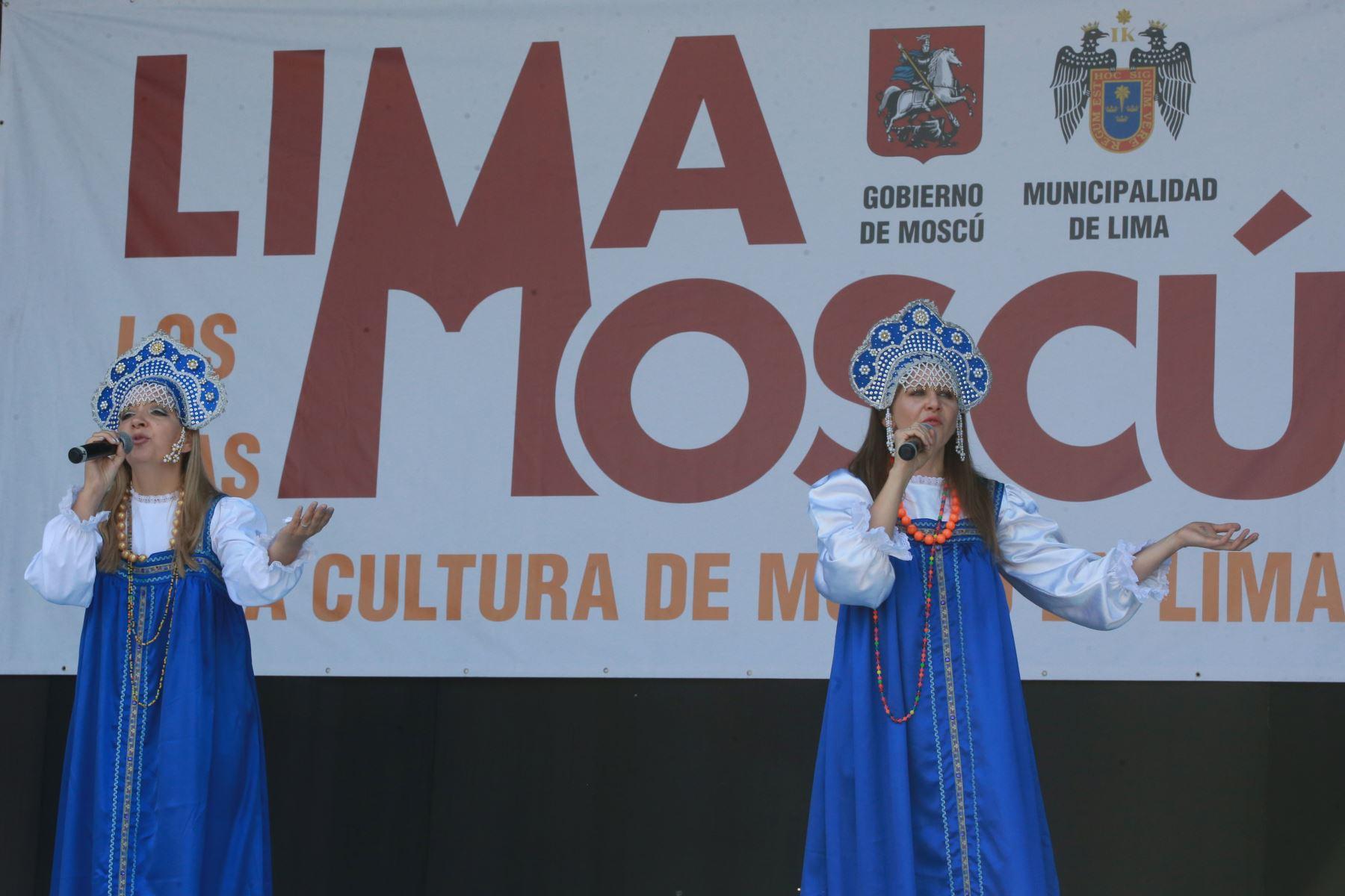 """"""" Los Días de Moscú"""" en nuestra capital permitirá, compartir experiencias y conocer de cerca las tradiciones culturales rusas.Foto:ANDINA/ Jhony Laurente"""