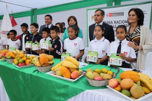 Lanzamiento de la Semana Nacional de Frutas y Verduras