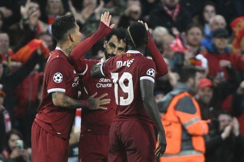 Liverpool gana 5 a 2 a Roma por la UEFA Champions League