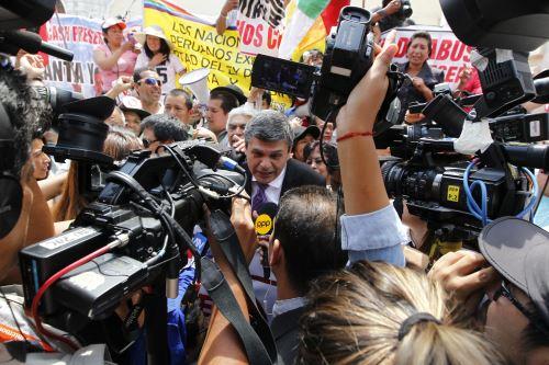 Nacionalistas celebran fallo a favor del matrimonio Humala - Heredia