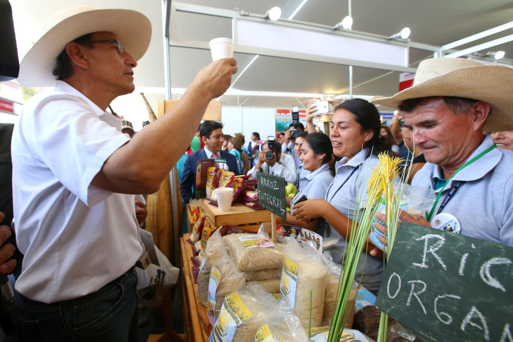 Presidente Vizcarra inaugura Feria Expo Perú Norte 2018. Foto: ANDINA/Prensa Presidencia