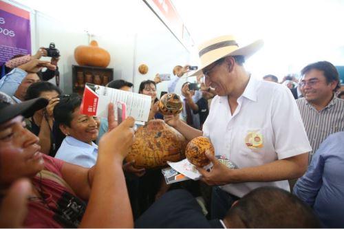 Presidente Vizcarra inaugura Feria Expo Perú Norte 2018