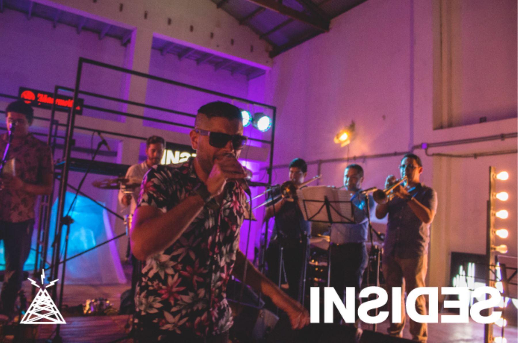 La banda Ray Callao mostrará su trabajo y energía musical en los cines. ANDINA/Difusión