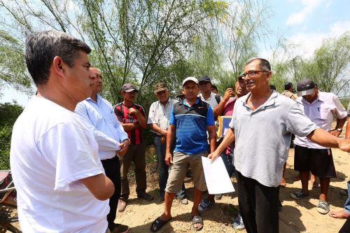 Presidente del Congreso, Luis Galarreta, visitó la región Tumbes.