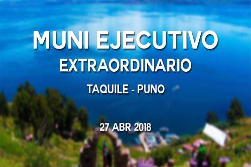 Muni Ejecutivo Extraordinario se realizará este viernes en Puno Foto: Difusión