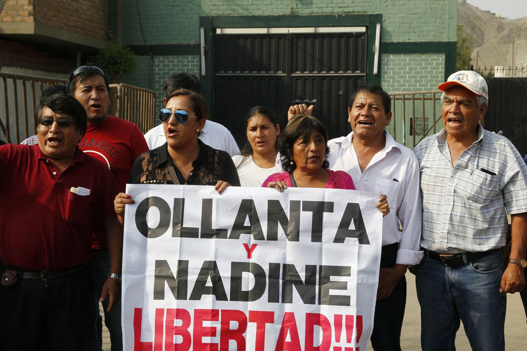 Que Humala salga de prisión no es derrota — Fiscal