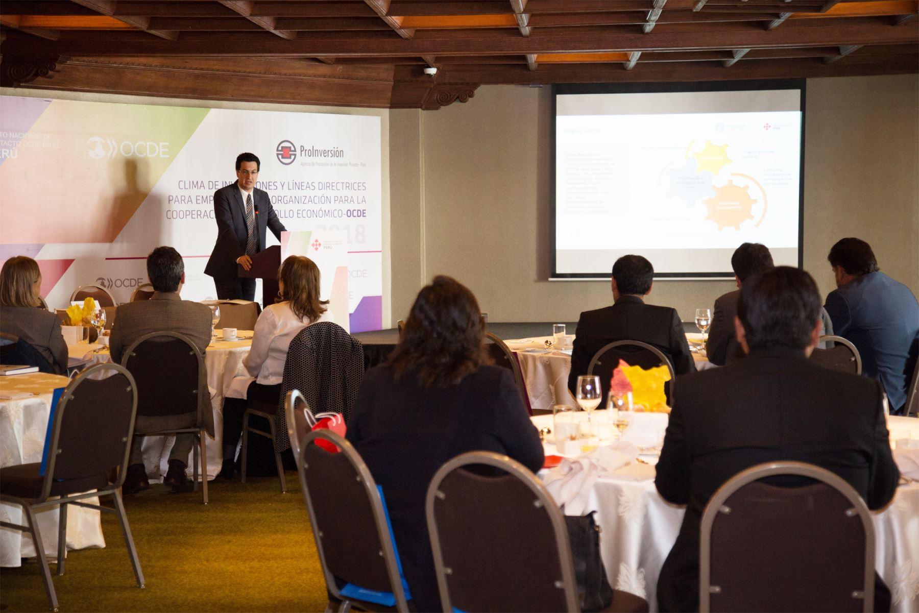 ProInversión reunió a diversos ejecutivos de la región Cusco para promover la conducta empresarial  responsable. Cortesía