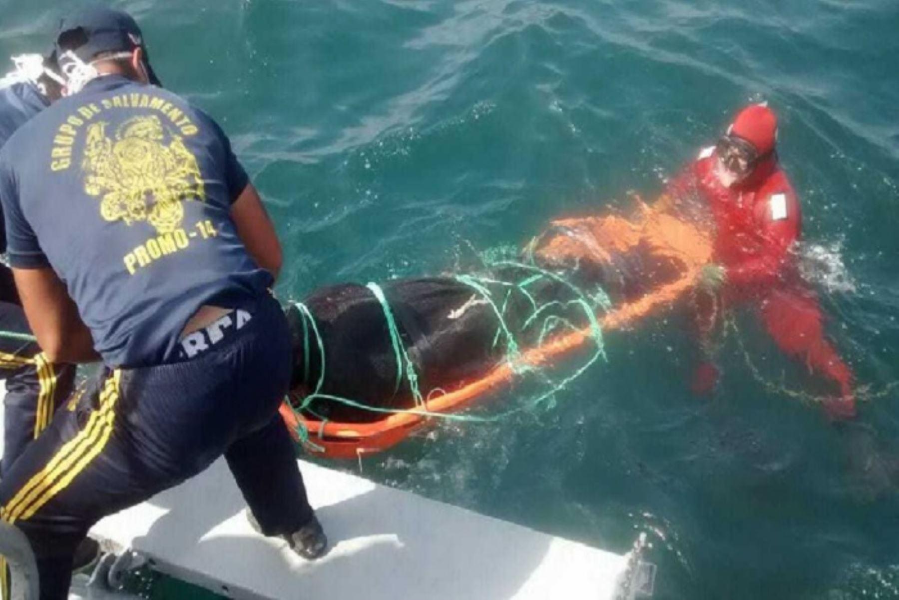 Chimbote: hallan otro cuerpo de uno de los pescadores desparecidos